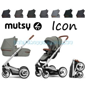 Универсальная коляска 2 в 1 Mutsy Icon Vision фото, картинки | Babyshopping