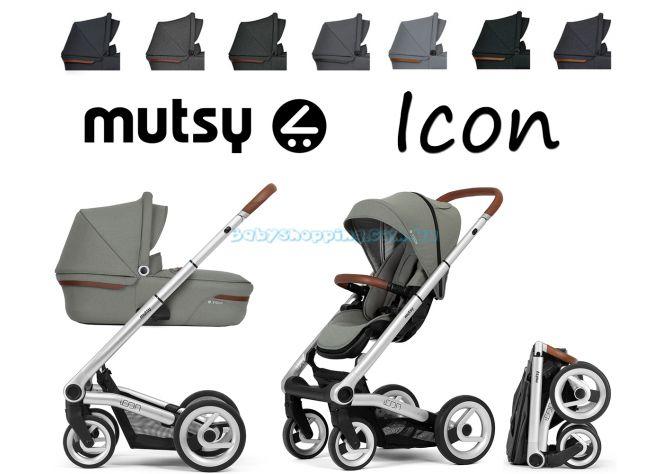 Универсальная коляска 2 в 1 Mutsy Icon Vision  ����, �������� | Babyshopping