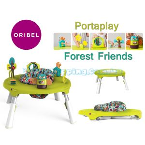Игровой столик Oribel Portaplay Forest Friends фото, картинки | Babyshopping