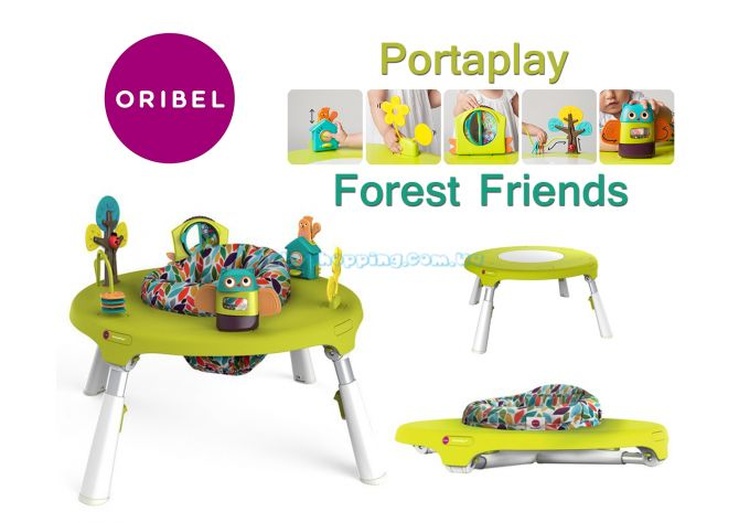 Игровой столик Oribel Portaplay Forest Friends ����, �������� | Babyshopping