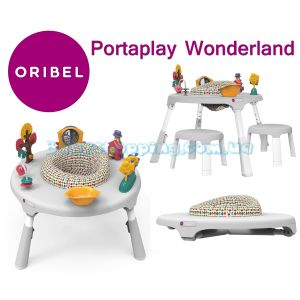Игровой столик Oribel Portaplay Wonderland + 2 стульчика  фото, картинки | Babyshopping