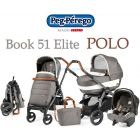 Универсальная коляска 3 в 1 Peg-Perego Book 51 Elite Polo Modular ����, �������� | Babyshopping
