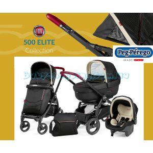 Универсальная коляска 3 в 1 Peg-Perego Book 51 S Fiat 500 Modular 2019 фото, картинки | Babyshopping