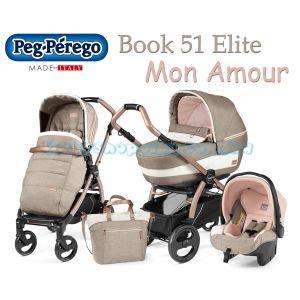 Универсальная коляска 3 в 1 Peg-Perego Book 51 Elite Mon Amour фото, картинки | Babyshopping