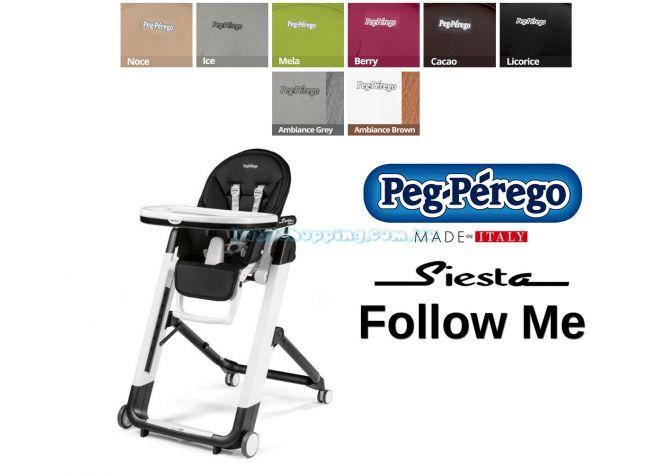 Стульчик для кормления Peg-Perego Siesta Follow Me ����, �������� | Babyshopping