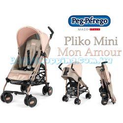 Прогулянкова коляска тростина Peg-Perego Pliko Mini Mon Amour  фото, картинки | Babyshopping