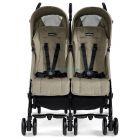 Прогулочная коляска для двойни Peg-Perego Pliko Mini Twin Classico 2019 ����, �������� | Babyshopping