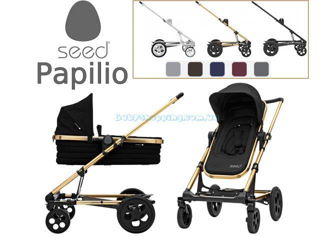 Универсальная коляска 2 в 1 Seed Papilio ����, �������� | Babyshopping