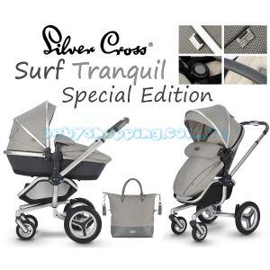 Детская коляска 2 в 1 Silver Cross Surf Tranquil Special Edition  фото, картинки | Babyshopping