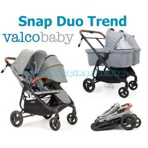 Коляска для двойни 2в1 Valco Baby Snap Duo Trend фото, картинки   Babyshopping