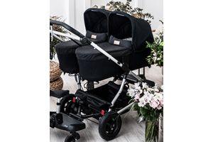5 самых популярных детских колясок для двойни