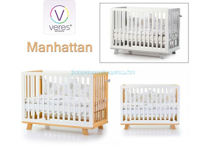 Детская кроватка Veres Manhattan ����, �������� | Babyshopping