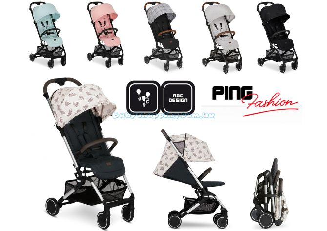 Прогулочная коляска ABC Design Ping Fashion Edition  ����, �������� | Babyshopping
