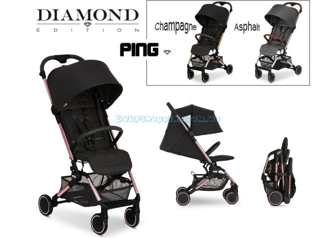 Прогулочная коляска ABC Design Ping Diamond Edition  ����, �������� | Babyshopping