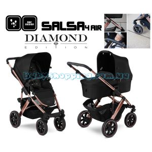 Детская коляска 2 в 1 ABC Design Salsa 4 Air Rose Gold Diamond Special Edition фото, картинки | Babyshopping