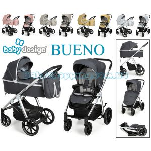 Детская коляска 2в1 Baby Design Bueno NEW  фото, картинки | Babyshopping