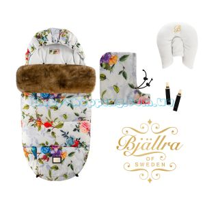 Tеплый конверт Bjällra of Sweden Rose Garden Collection фото, картинки | Babyshopping