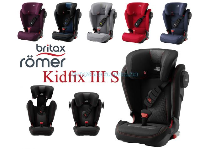 Автокресло Britax-Romer Kidfix III S ����, �������� | Babyshopping