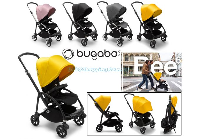 Прогулочная коляска Bugaboo Bee 6 ����, ��������   Babyshopping