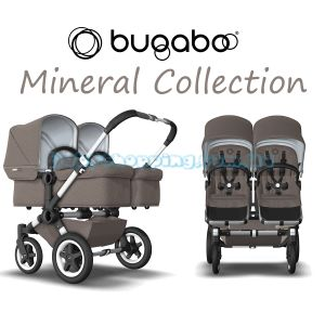 Коляска для двойни 2 в 1 Bugaboo Donkey 2 Twin Mineral Collection  фото, картинки | Babyshopping