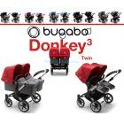 Коляска для двойни 2 в 1 Bugaboo Donkey 3 Twin ����, �������� | Babyshopping