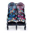 Прогулочная коляска для двойни Cosatto Woosh Double  ����, ��������   Babyshopping