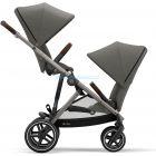 Детская коляска для двойни 2 в 1 Cybex Gazelle S  ����, �������� | Babyshopping