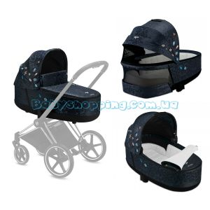 Люлька Cybex Priam Lux Carry Cot Jewels of Nature фото, картинки | Babyshopping