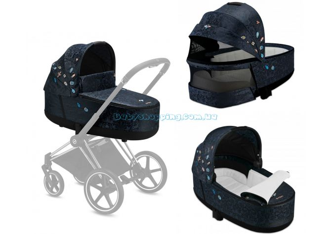 Люлька Cybex Priam Lux Carry Cot Jewels of Nature ����, ��������   Babyshopping