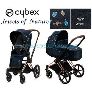 Универсальная коляска 2 в 1 Cybex Priam Jewels of Nature фото, картинки | Babyshopping