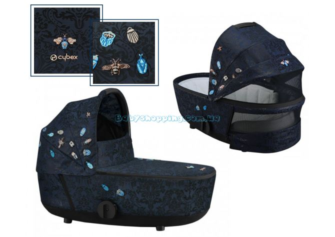 Люлька Cybex Mios LUX Carry Cot Jewels of Nature ����, �������� | Babyshopping