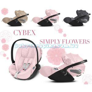 Автокресло Cybex Cloud Z i-Size Simply Flowers фото, картинки | Babyshopping