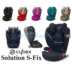 Автокрісло Cybex Solution S-Fix, 2020 фото, картинки | Babyshopping