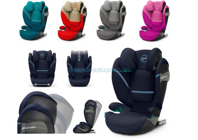 Автокресло Cybex Solution S i-Fix ����, �������� | Babyshopping