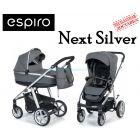 Универсальная коляска 2 в 1 Espiro Next Silver ����, �������� | Babyshopping