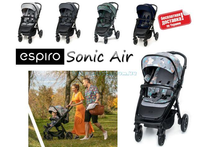 Прогулочная коляска Espiro Sonic Air 2020 ����, �������� | Babyshopping