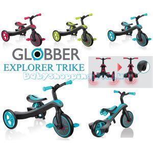 Дитячий велосипед - беговел 2 в 1 Globber Trike Explorer фото, картинки | Babyshopping