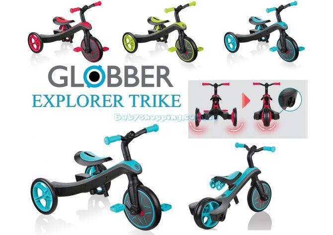 Детский велосипед - беговел 2в1 Globber Trike Explorer ����, �������� | Babyshopping