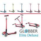 Трехколесный самокат Globber Elite Deluxe ����, �������� | Babyshopping