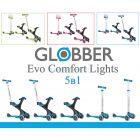 Самокат беговел Globber Evo Comfort Lights 5 в 1 ����, �������� | Babyshopping