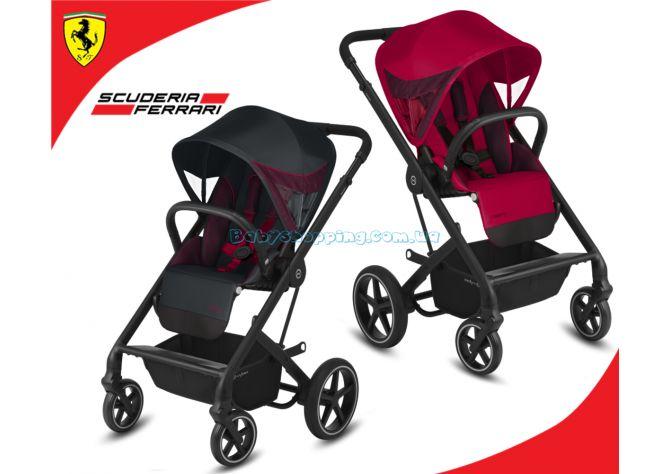 Прогулочная коляска Cybex Balios S Lux for Scuderia Ferrari  ����, �������� | Babyshopping