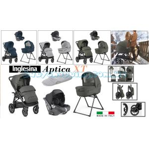 Детская коляска 4в1 Inglesina Aptica XT с автокреслом Darwin i-Size фото, картинки   Babyshopping