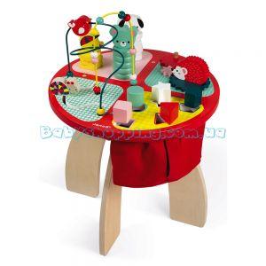 Дитячий ігровий столик Janod Activity Table фото, картинки | Babyshopping