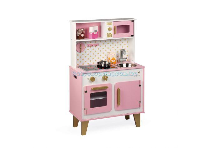Детская деревянная кухня Janod Candy Chic J06554  ����, �������� | Babyshopping