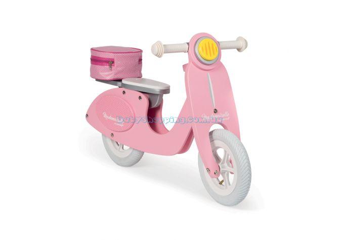 Детский деревянный толокар Janod Mademoiselle Pink  ����, �������� | Babyshopping