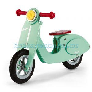 Детский деревянный толокар Janod Bike Scooter Mint  фото, картинки | Babyshopping