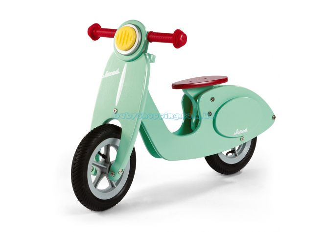 Детский деревянный толокар Janod Bike Scooter Mint  ����, �������� | Babyshopping