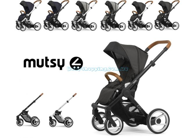 Прогулочная коляска Mutsy Evo Nomad 2020  ����, �������� | Babyshopping