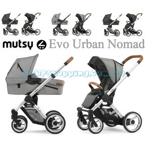 Универсальная коляска 2 в 1 Mutsy Evo Urban Nomad 2020 фото, картинки | Babyshopping