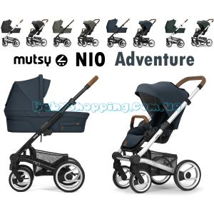 Универсальная коляска 2 в 1 Mutsy Nio Adventure 2020 фото, картинки | Babyshopping